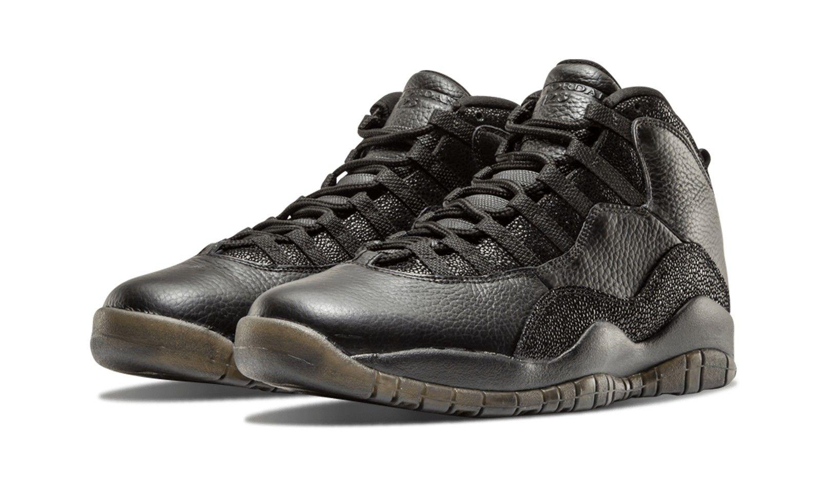 DRAKE x AIR JORDAN 10 RETRO OVO BLACK(819955-030)