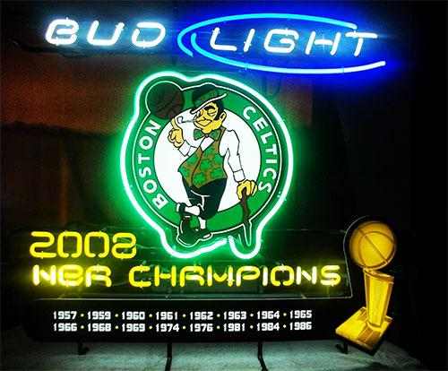 Boston Celtics ネオン