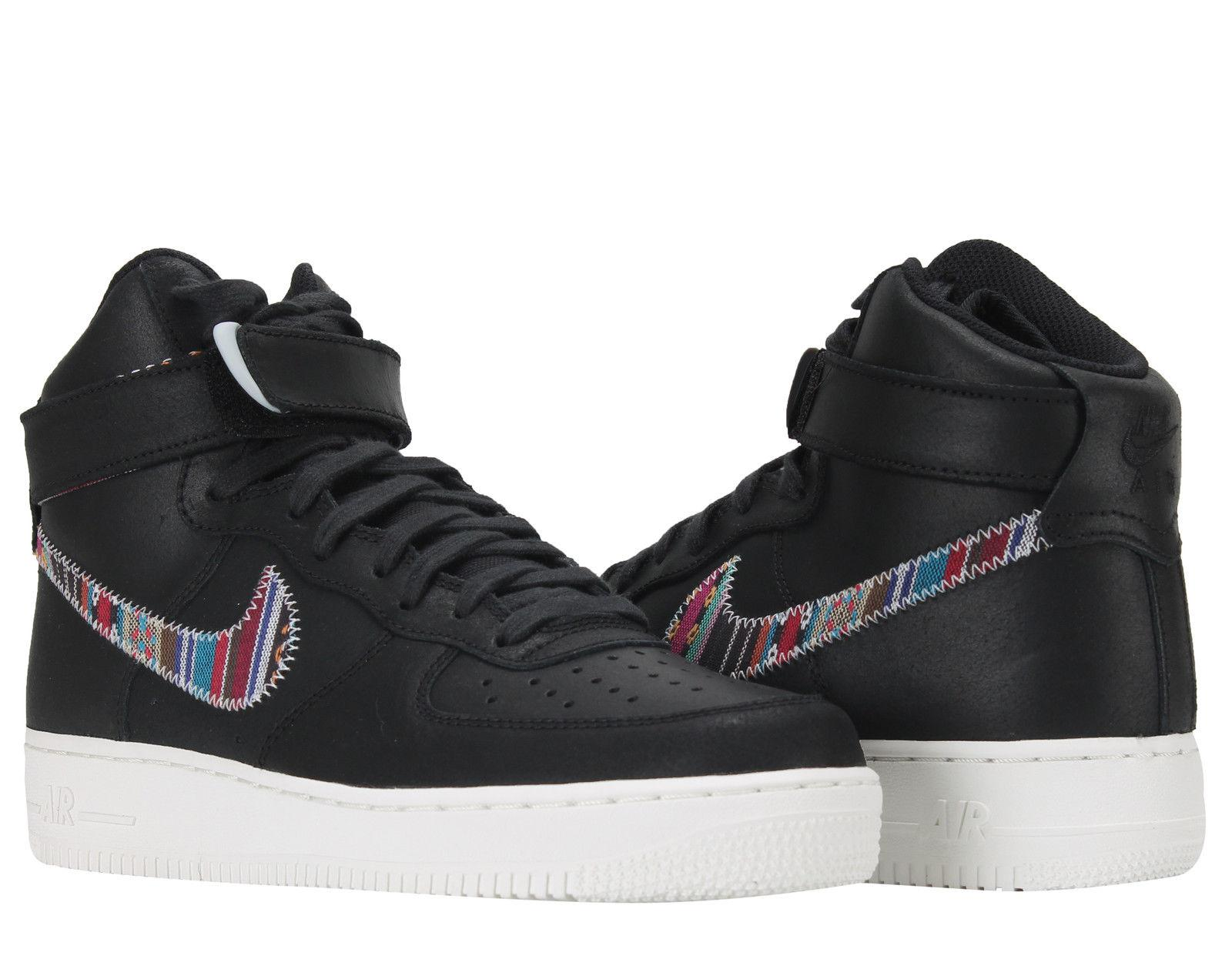 "NIKE AIR FORCE 1 HIGH '07 LV8 ""Afro Punk""in BLACK(806403-006)"