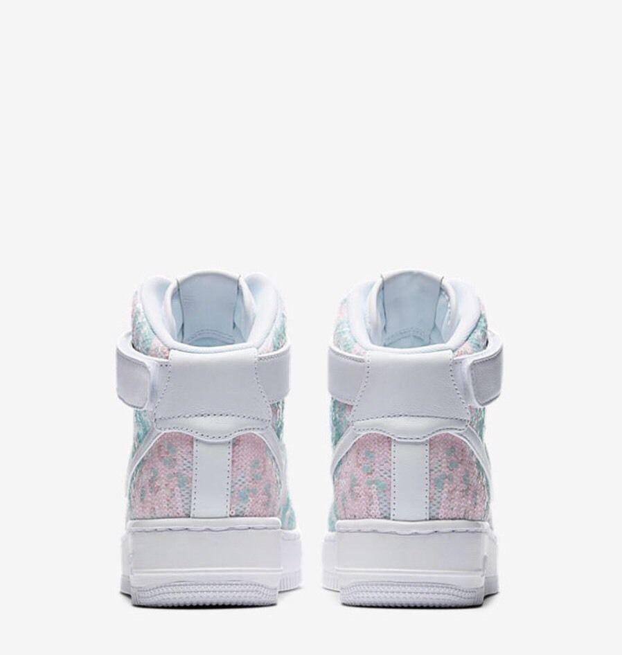 NIKE AIR FORCE 1 UPSTEP HIGH LX GLASS SLIPPER(898422-100)
