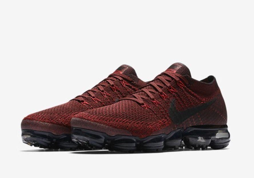 NIKE VAPORMAX FLYKNIT TEAM RED/BLACK( 849558-601)