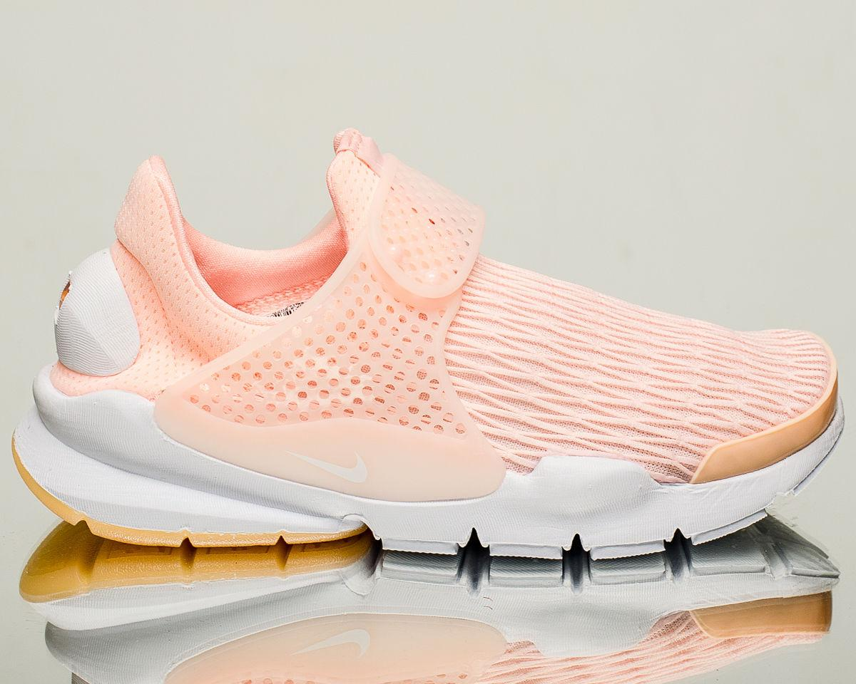 "NIKE SOCK DART PREMIUM ""Siltstone Red"" With Gum Soles(881186-601)"