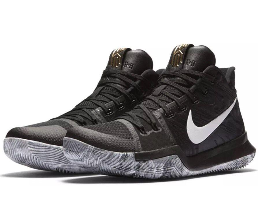 NIKE KYRIE 3 TRIPLE BLACK(852395-005)