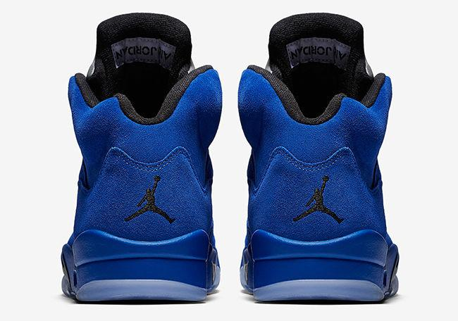 "AIR JORDAN 5 ""BLUE SUEDE""(136027-401)"