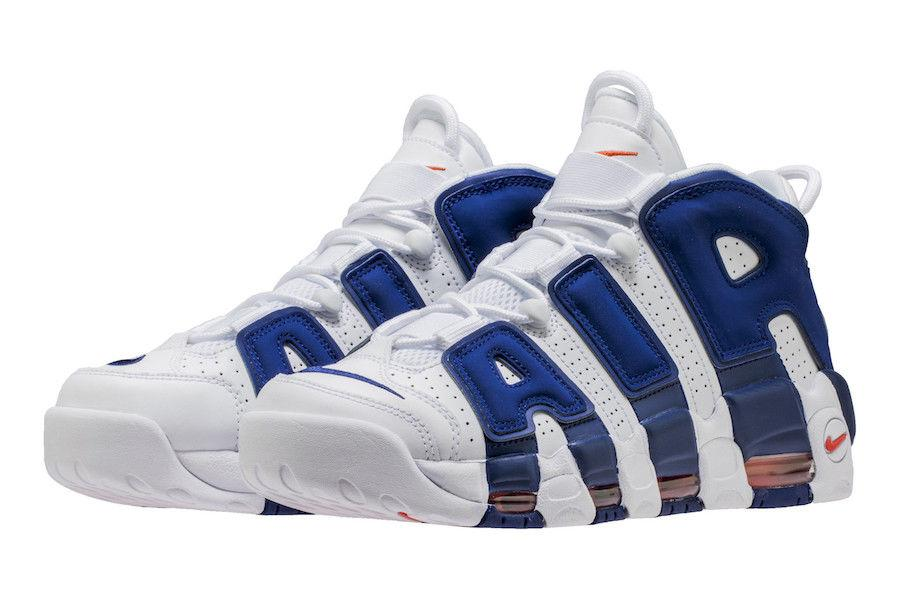 "NIKE AIR MORE UPTEMPO ""Knicks""(921948-101)"