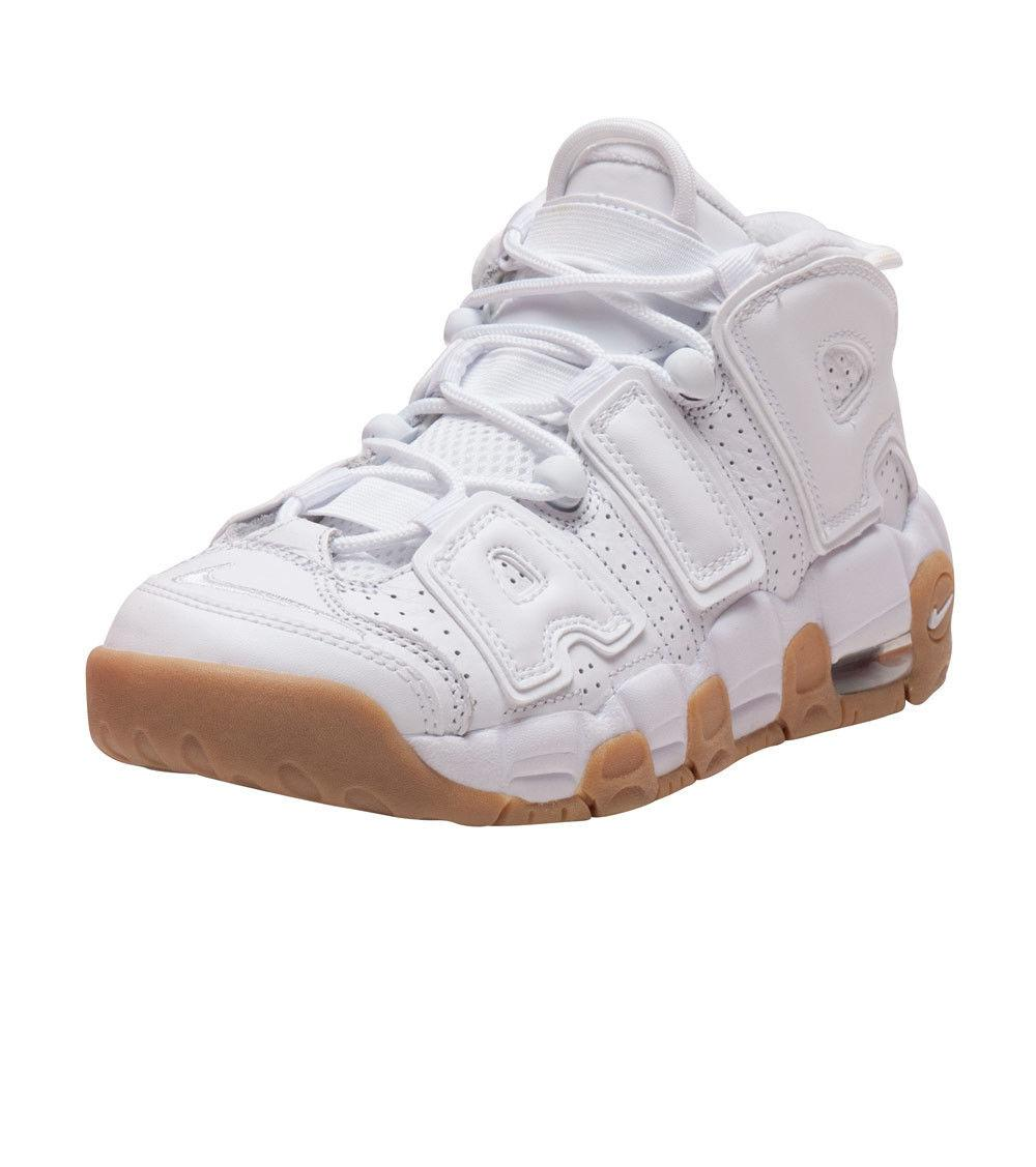 NIKE AIR MORE UPTEMPO White/Varsity Red(921948-102)