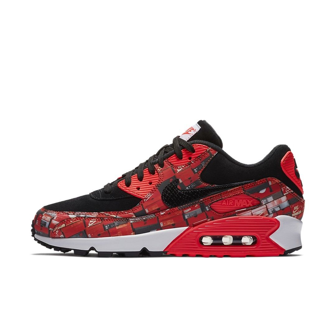 "NIKE AIR Max 90 Print ""We Love NIKE""(AQ0926-001)"