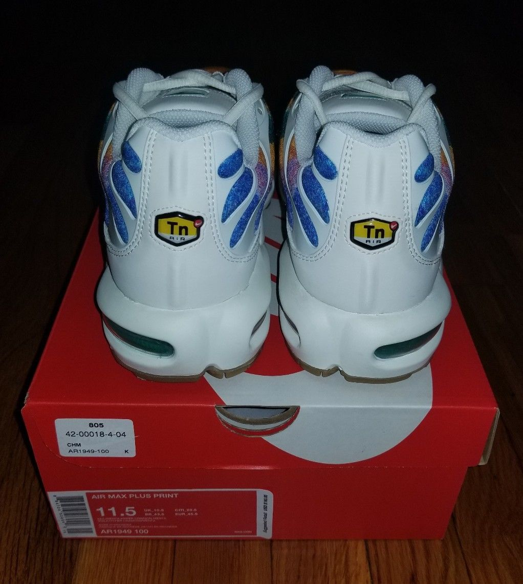 NIKE AIR Max Plus Print(AR949-100)